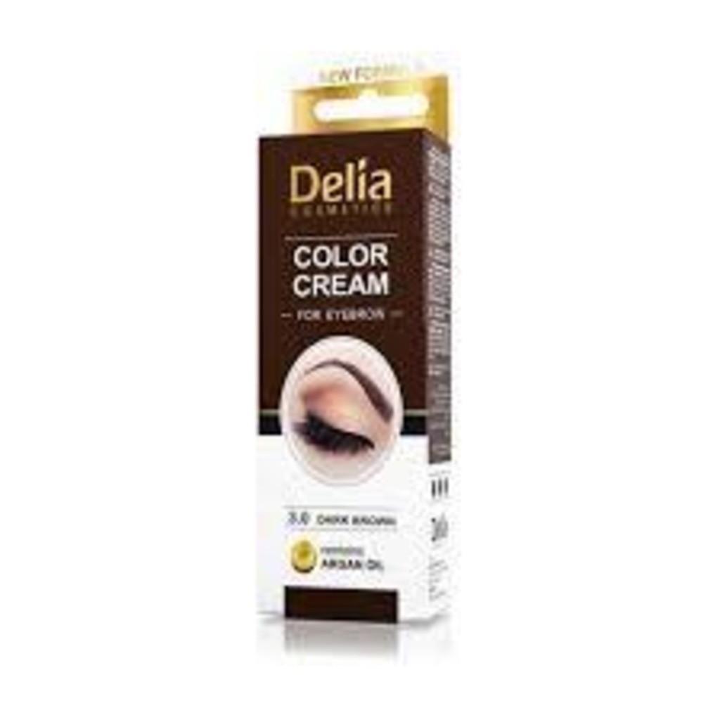 DELIA EYEBROW COLOR CREAM 4.0 BROWN